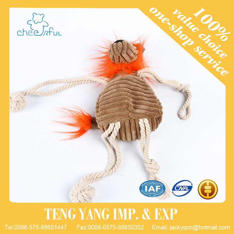 2016 valentines gift customized Soft Nice toy jumping animal soft toy