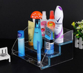 Multifunctional Acrylic Condoms Cigarette Display Rack With Three Layers
