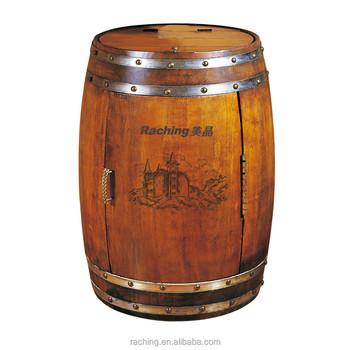 how to make a wine barrel cabinet