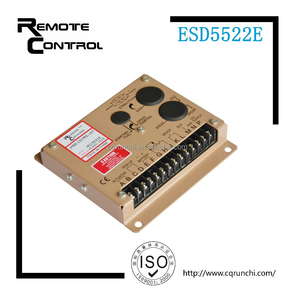 ESD5522E speed controller unit electronic module for diesel engine parts