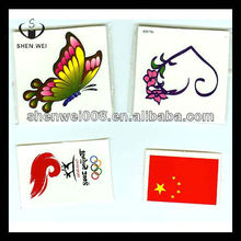 various design sticker permanent glitter crystal body tattoos