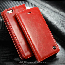 Luxury Mobile Cases And Covers For iPhone 7 iPhone 7 flip PU Leather Case WALLET