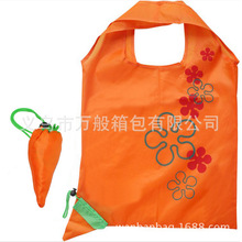 Radish folding shopping bag Polyester 190T