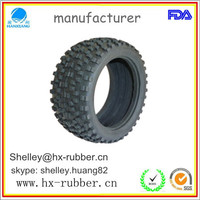 solid rubber wheel 14x4