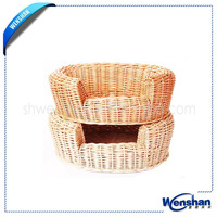 pet's wicker basket for sale