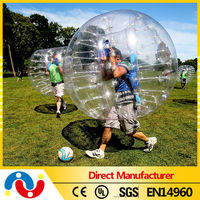 Funny popular walking plastic bumper bubble ball for kids and adults