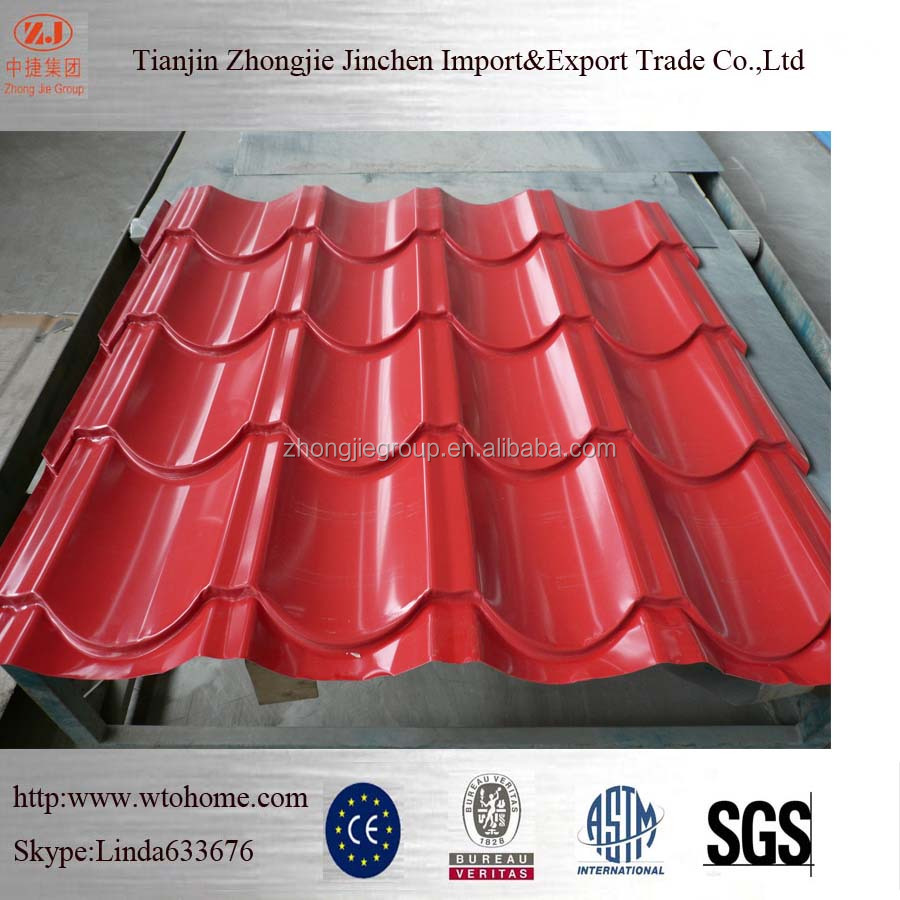 Colorful Flat Stone Coated Steel Roof Sheets Galvanized Tin Aluminum Roof Design