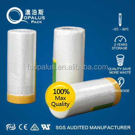 Good price protective masking plastic film tape for car paint protection