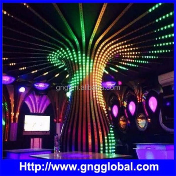 SFTC function IC buil-in full color led type 60pixels per meter led rgb neon flex