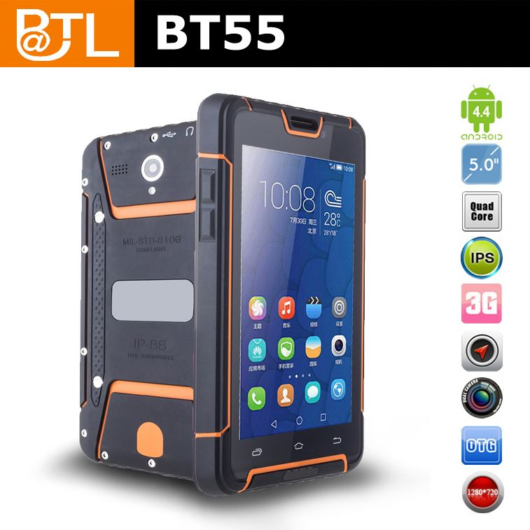 BATL BT55 5.0 MP + 13.0 MP dual sim card IP67 waterproof handphone
