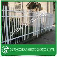 China manufacturer Ornamental steel picket fencing cheap fences