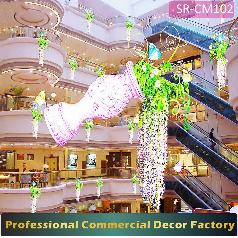 Custom commercial Department Store spring decoration for new year