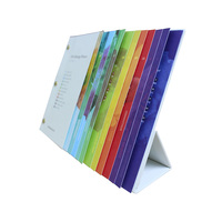 Full color printed desktop souvenir calendar