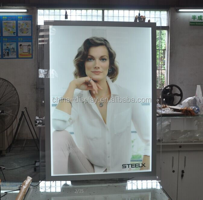 wholesale shop advertising displayed acrylic cosmetic display stand