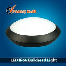 24W LED Round Ceiling Light Microwave sensor IP66 Bulkhead