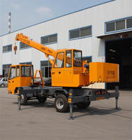 6 Ton Hydraulic Crane Truck/6 Ton Mobile Mini Crane for sale
