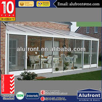 High Quality Africa Style Aluminium Glass Garden House made in China