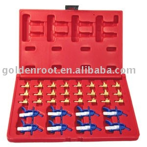 32pcs Set for Flow Meter Common Rail ~ Measurement of return flow of the injector, Auto Repair Tools, Automotive Tools