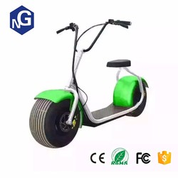 Double seat Citycoco Scrooser with LED light electric scooter/electric bicycle/electric motorcycle with two wheel