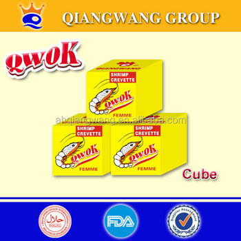 4g*25*80 QWOK SHRIMP BOUILLON TABLETTE CUBE SEASONING CUBE BOUILLON CUBE SOUP CUBE