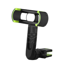Aluminum Sheet ABS Long Arm Car Air Vent Mount Phone Holder with Clip