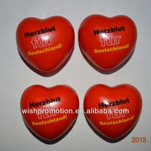 PU stress heart shape toys,promotion heart toy