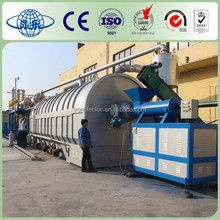 High Quality 20 Tons Continuous Used Tyre/Plastic to Oil Recycling Plant/ Waste Ruber Pyrolysis Machine