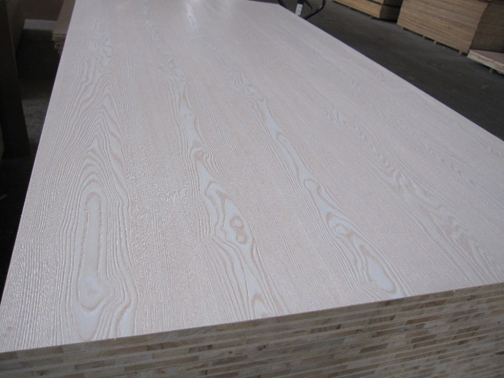 Paper Faced Plywood ~ White melamine paper faced facncy plywood for furniture
