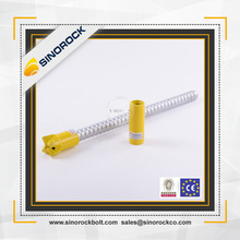 SINOROCK Retaining wall used steel reinforcement anchorage system hollow drill grouting rod