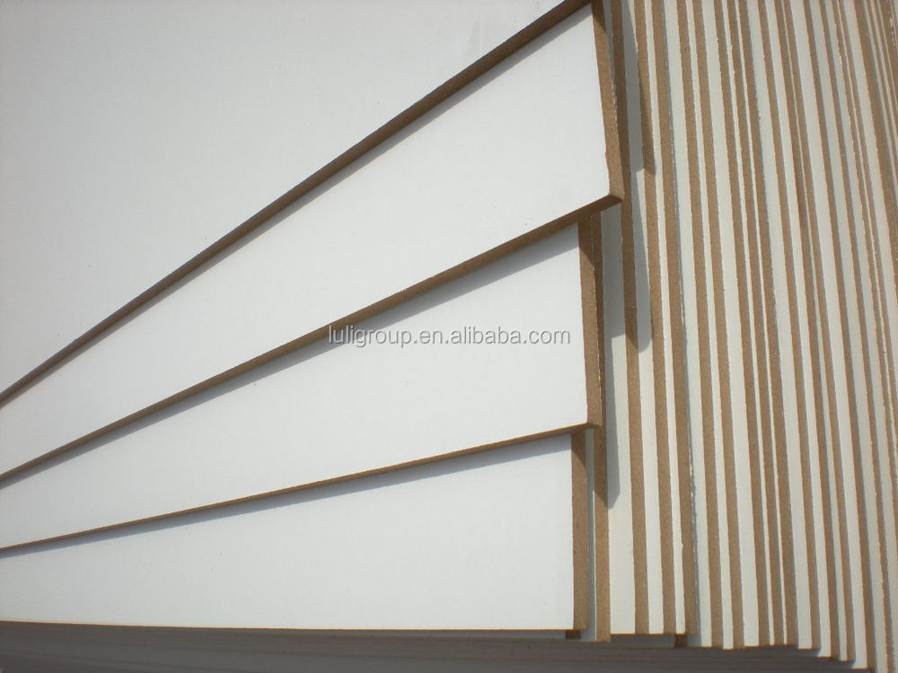 melamine MDF board and white melaine mdf