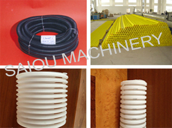 hdpe corrugated pipe machine for drainage