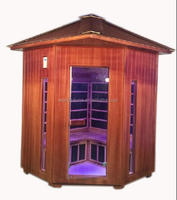 220v outdoor sauna