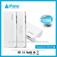 2013 new arrival large capacity emergency portable power bank for iphone5/5S