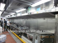Catering Oil Fume Range Hood with Electrostatic Filter