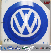 High quality vacuum forming acrylic car logo and their names