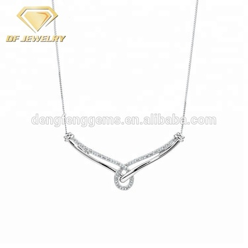 925 Silver Necklace Jewelry Women