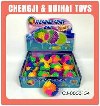 High Quality colorful 8cm small spiky rubber ball