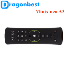 Minix neo A3 Wireless air mouse 4k satellite receiver case for remote control best quality Keyboard with Voice