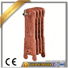 China supply factory hign quality and cheap hot water heater Home heating system gas fireplace parts CAST IRON RADIATOR