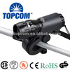 hot cycling accessories CREE Q5 led focus adjustable flashlight 3 modes bike light with bicycle clip TP-SA-808A
