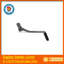 CG150 engine spare parts starter lever pedal powered tricycle