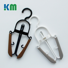 Multipurpose Plastic Folding T-shirt Clothing Hanger for Drying Clothes