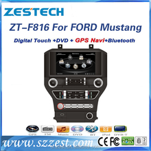 touch screen car radio for mustang with radio audio gps navigation BT mp3 TV multimedia