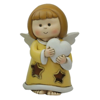 Polyresin angel figurines baptism gifts angel statue for baptism decoration