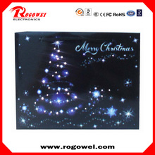 Hot selling christmas glowing paper bag with CE certificate