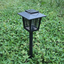 America Market Hotsale Outdoor Use IP65 Square LED Solar Light for Bug Zapper