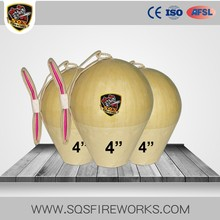 Wholesale Chinese CE Approved 4 inch display shells fireworks