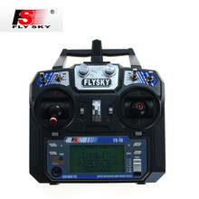Hot Sale Flysky FS-i6 FS I6 2.4G 6ch RC Transmitter Controller For RC Helicopter Plane Quadcopter