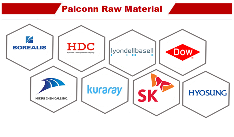 5 Palconn raw material
