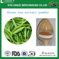Health Suppliment top quality green tea extract / Green tea instant powder with tea polyphenols